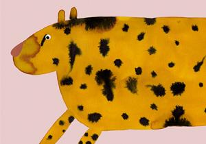 Panther illustration door Aniek Bartels