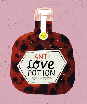 Anti love potion Aniek Bartels