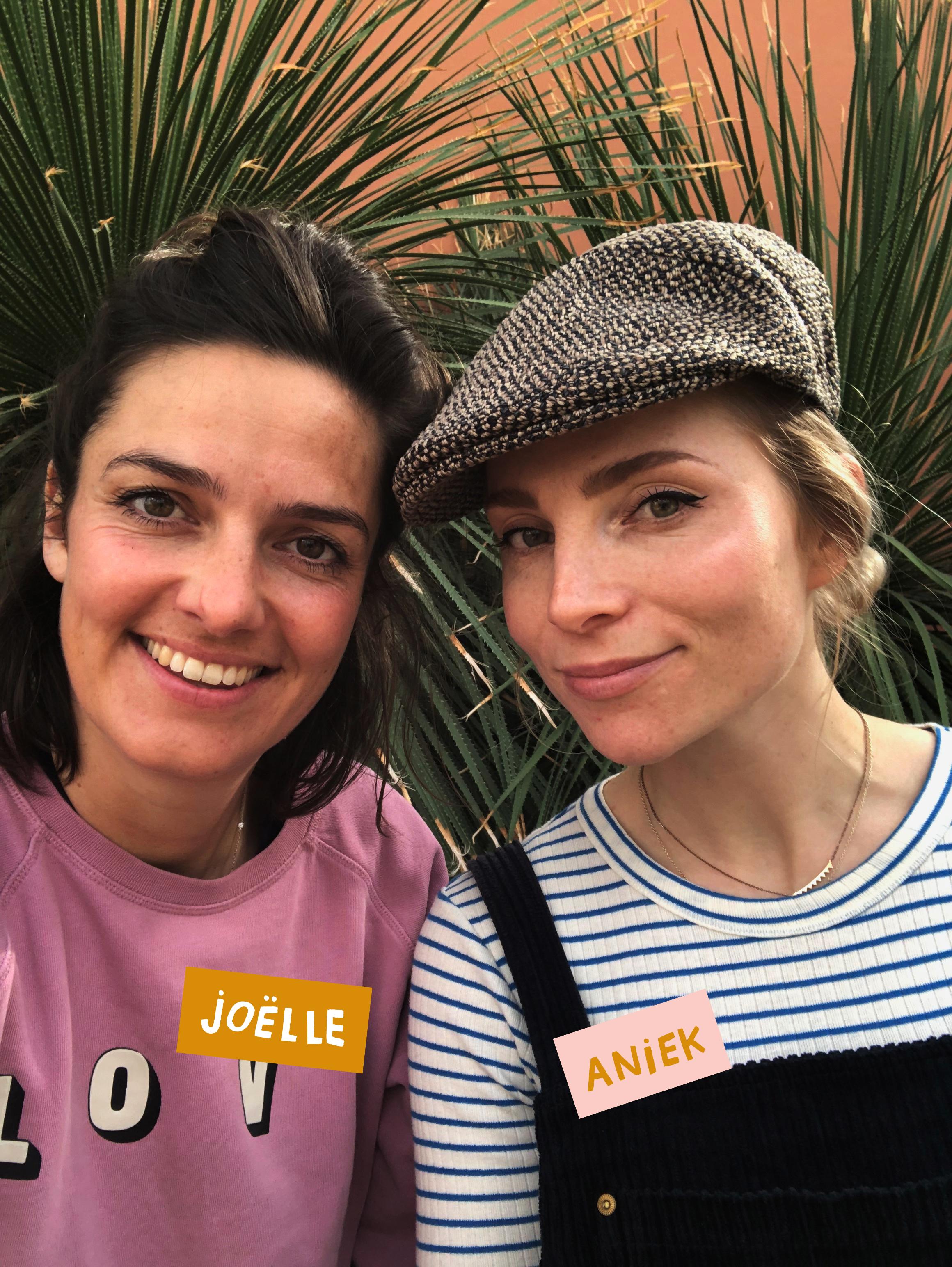 Portret Joëlle Wehkamp en Aniek Bartels