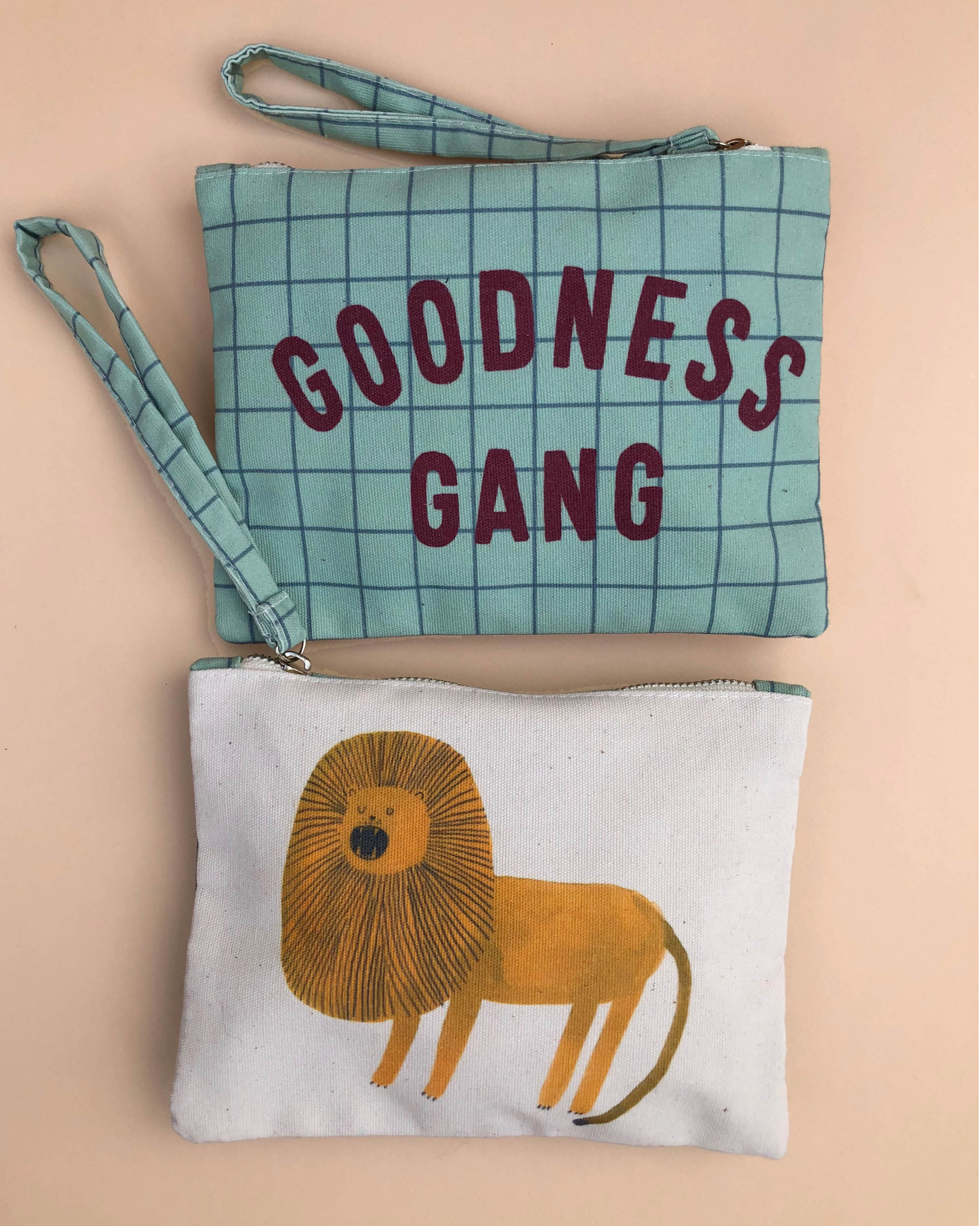 Goodnessgang products clutch. Concept by Joëlle Wehkamp en Aniek Bartels