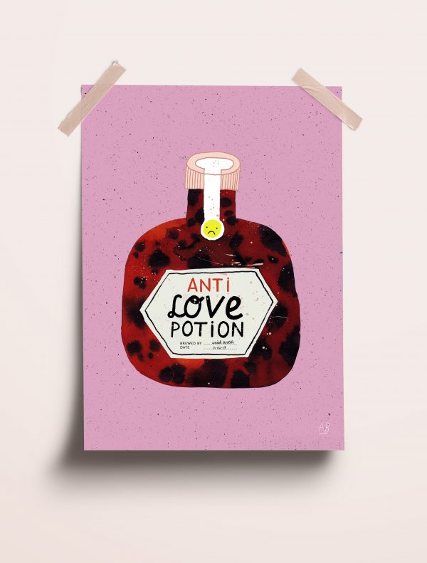 Anti love potion - Aniek Bartels