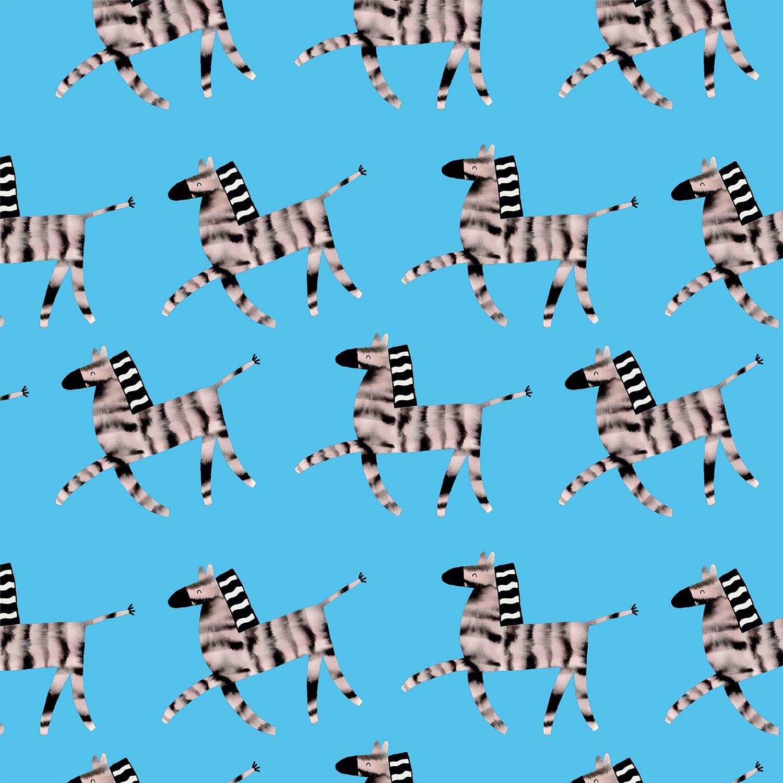 Babboe Boet print zebra- Aniek Bartels - May Brand Builders