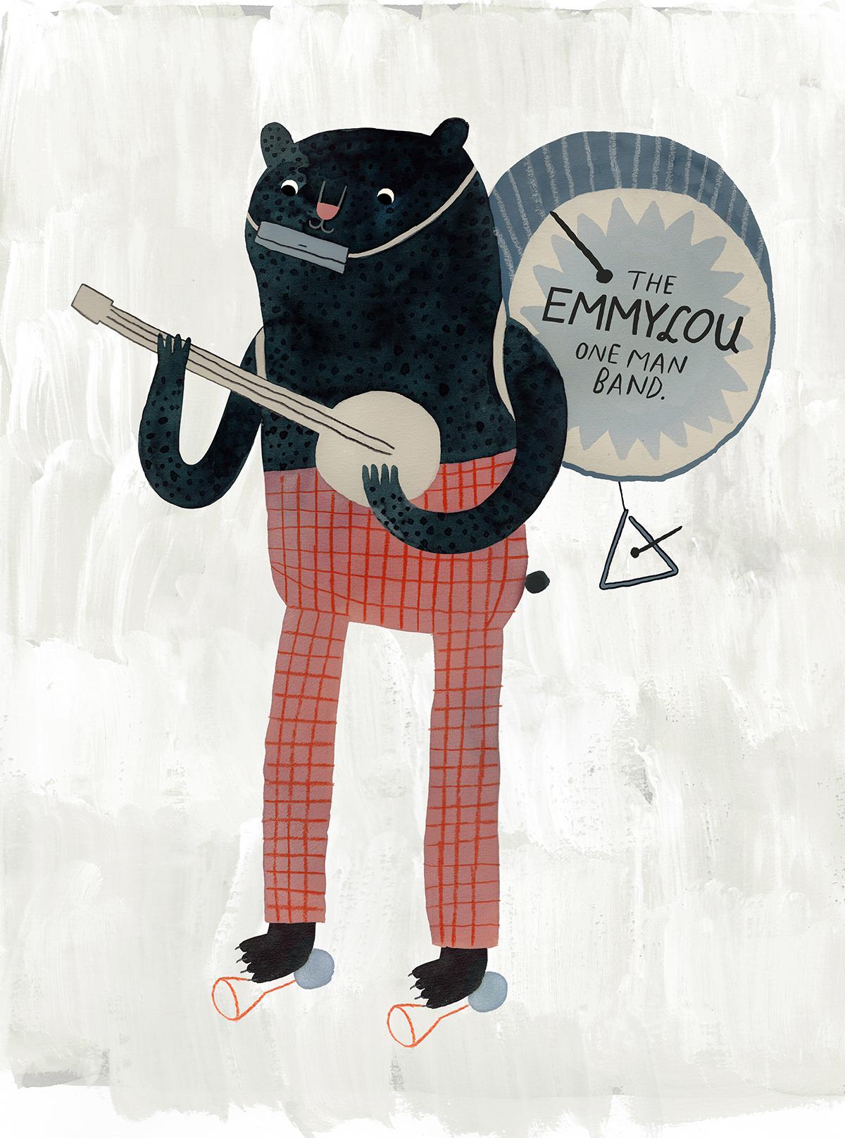 The Emmylou one man band