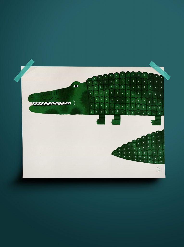 crocodile - Aniek Bartels