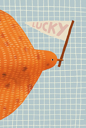 Lucky Bird card